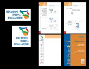 | Marchio, immagine coordinata e manuale operativo per la Federazione Italiana Pallacanestro